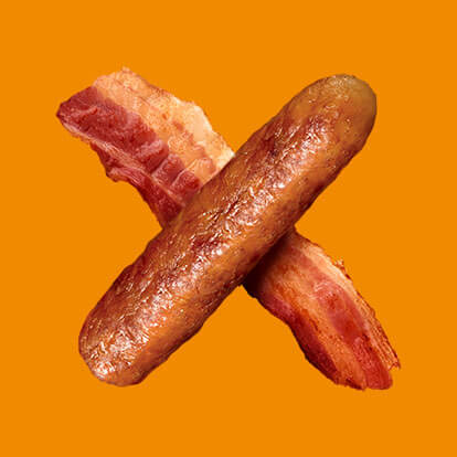 Find out more about Bacon & Sausage and its nutritional information