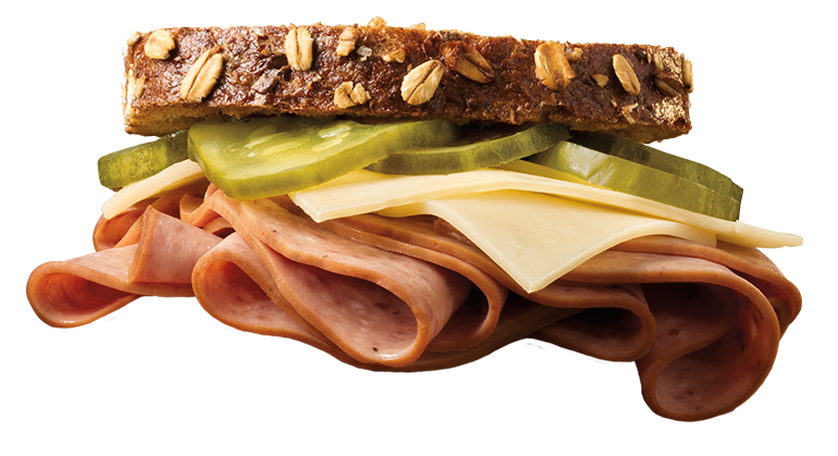 This yummy sandwich is made with Swift deli ham but that's not why you're here. Scroll down to fill out our Contact Us form.