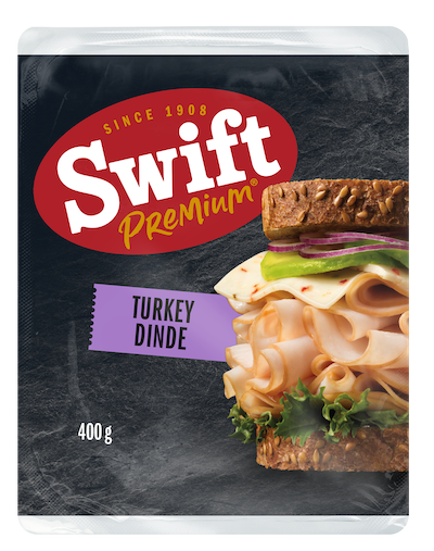 Make your turkey club a double decker with Swift Premium Deli Turkey.
